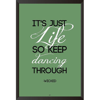 Wicked Quote Poster