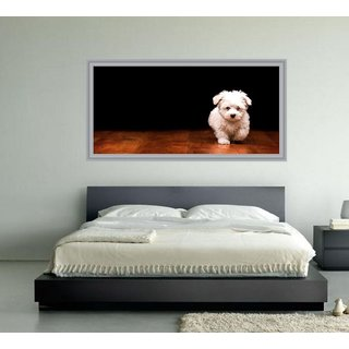 Impression Wall Dog 92*48 cm (without Frame)