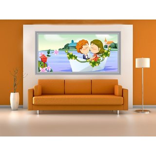 Impression Wall Cute 92*48 cm (without Frame)