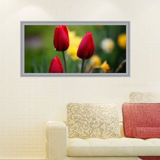 Impression Wall Flowers 92*48 cm (without Frame)