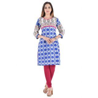 Jaipuri  Designer Cotton Kurtis