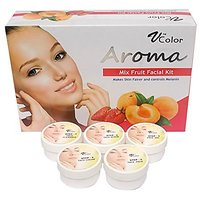 V-Color Aroma Mixed Fruit Facial Kit 270 G (5 Steps)