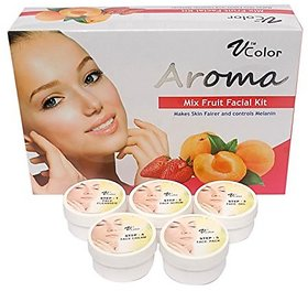 V-Color Aroma Mixed Fruit Facial Kit 270 g (5 Steps)