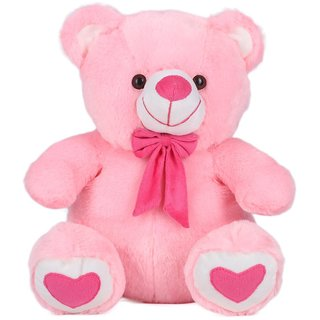 Teddy Bear Soft Toy Gift, Pink (15-inch)