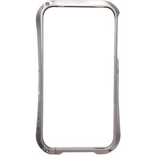 Callmate Bumper Cleave Aluminum Case For iPhone 4/4S -  Silver