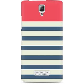 CopyCatz Stripes Pink Premium Printed Case For Lenovo A2010