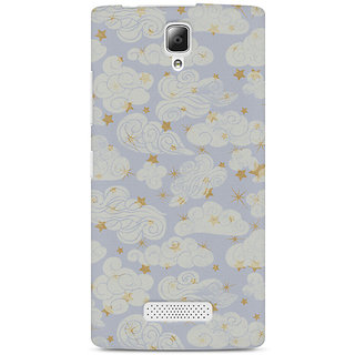 CopyCatz Vintage Clouds Premium Printed Case For Lenovo A2010