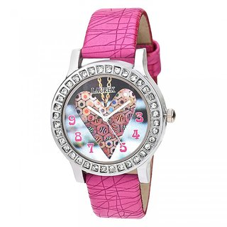 Laurex Analog Round Casual Wear Watches for Girl-lx-125