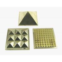Brass Pyramid 1.75 -For Vastu, Feng Shui, Pyramid Healing