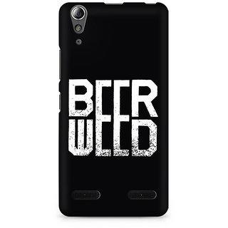 CopyCatz BeerWeed Premium Printed Case For Lenovo A6000