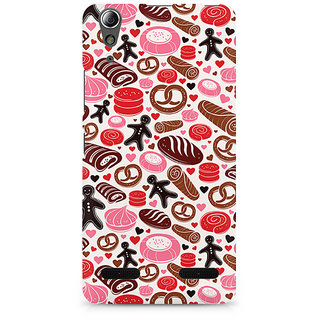 CopyCatz Bakery Love Premium Printed Case For Lenovo A6000