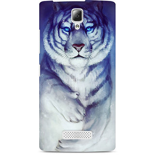 CopyCatz White Tiger Premium Printed Case For Lenovo A2010