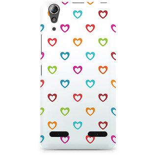 CopyCatz Colors of Love Premium Printed Case For Lenovo A6000