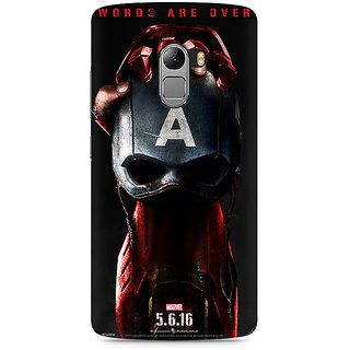 CopyCatz Captain vs IronMan Premium Printed Case For Lenovo K4 Note