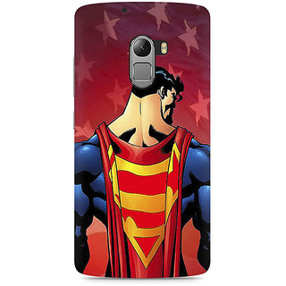 CopyCatz Superman Cape Premium Printed Case For Lenovo K4 Note