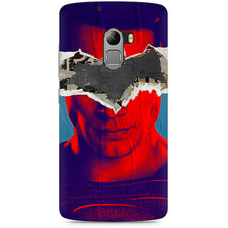CopyCatz Superman with Batman Logo Premium Printed Case For Lenovo K4 Note