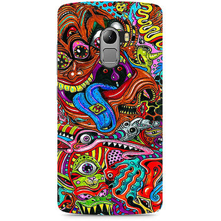 CopyCatz Surreal Colorful Physchedelic Premium Printed Case For Lenovo K4 Note