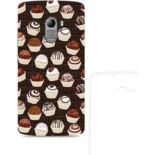 CopyCatz Dark Cupcakes Premium Printed Case For Lenovo K4 Note