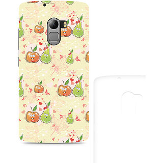 CopyCatz Apple and Pear Premium Printed Case For Lenovo K4 Note