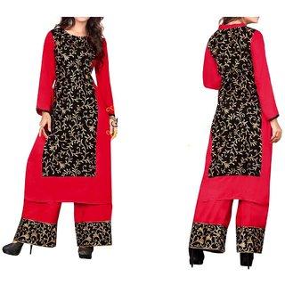 Women Pure Cotton Palazzo Suit