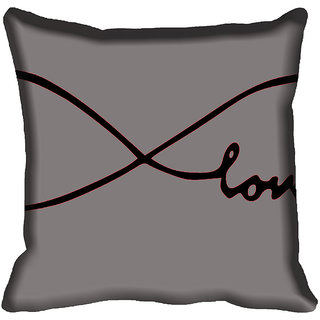 meSleep Abstract Digitally Printed Cushion Cover (18x18)