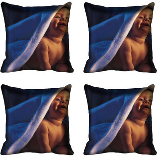 meSleep Baby Digitally Printed Cushion Cover (18x18)
