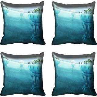 meSleep Nature Digital printed Cushion Cover (18x18)