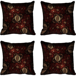 meSleep Abstract Digital printed Cushion Cover (18x18)