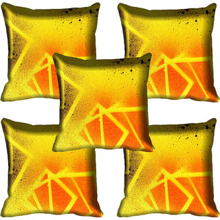 meSleep Abstract Digital printed Cushion Cover (18x18)
