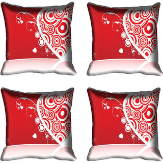 meSleep Heart Digital printed Cushion Cover (18x18)
