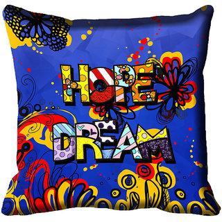 meSleep Hope Dream Digital Printed Cushion Cover 18x18