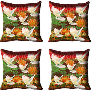 meSleep Bird Digital Printed Cushion Cover 20x20