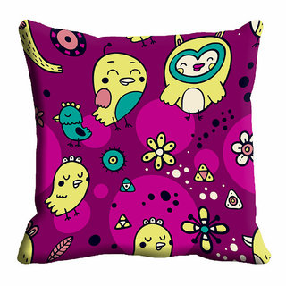 meSleep Bird Nature Cushion Cover (12x12)