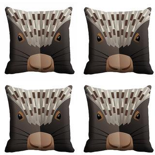 meSleep 3D Face Cushion Cover (12x12)