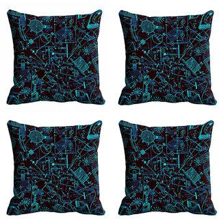 meSleep 3D Black Cushion Cover (20x20)