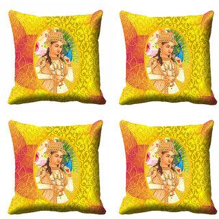 meSleep Beautiful Rani Cushion Cover (20x20)