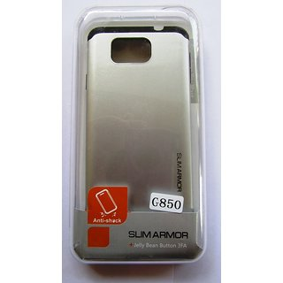 Samsung Galaxy Alfa G850 G 850 Mobile Soft TPU Back Cover Case Silver Color Quality Made Material