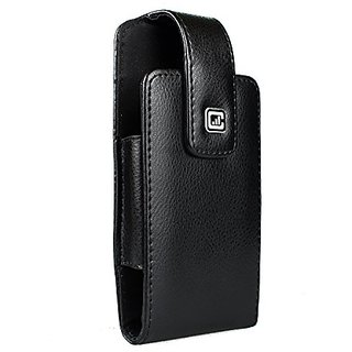 CASE123 MPS Classic TL Elite Premium Genuine Leather Swivel Belt Clip Holster for Samsung Galaxy S6 & Samsung Galaxy S6