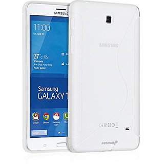 Fosmon Galaxy Tab 4 7.0 Slim Fit Cover [DURA-S] Snap On Case for Samsung Galaxy Tab 4 7-Inch Tablet (Clear)
