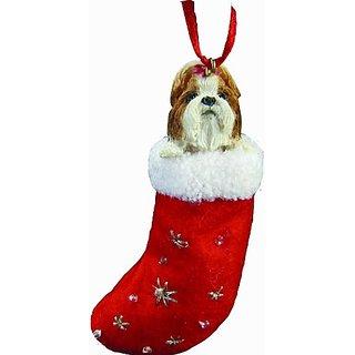 E And S Pets Orn221-38 Santas Little Pals Christmas Ornament