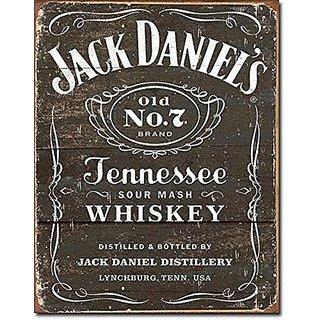 Jack Daniels - Weathered Logo Tin Sign 13 x 16in