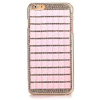 Handmade Bling iPhone 6 6s Hard Back Case Fashion Shining Diamond Crystal PC + TPU Case Cover for iPhone 6 6s 4.7 inch