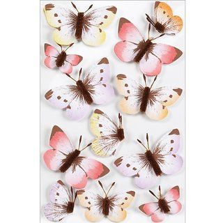 Martha Stewart Crafts Decorative Stickers, Sunny Days Ombre Butterfly