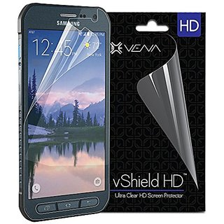 Galaxy S6 Active Screen Protector - VENA vShield [Ultra Clear HD] Anti-Scratch Shield with Lifetime Replacement Warranty