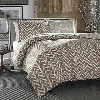 City Scene Duvet Cover Set, Twin, Savoy