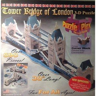 Tower Bridge Of London 3-D Puzzle 590 Pieces