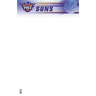 Turner Nba Phoenix Suns Notepads - 5 X 8 Inches - 2 Packs