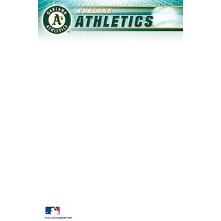 Turner Mlb Oakland Athletics Notepads - 5 X 8 Inches - 2 Packs