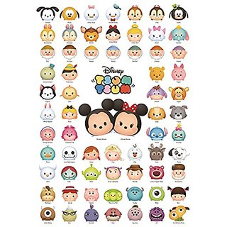 Tenyo Disney Tsum Tsum Line Up! Jigsaw Puzzle (1000 Piece)