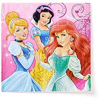 American Greetings Disney Princess Lunch Napkins, 16 Co